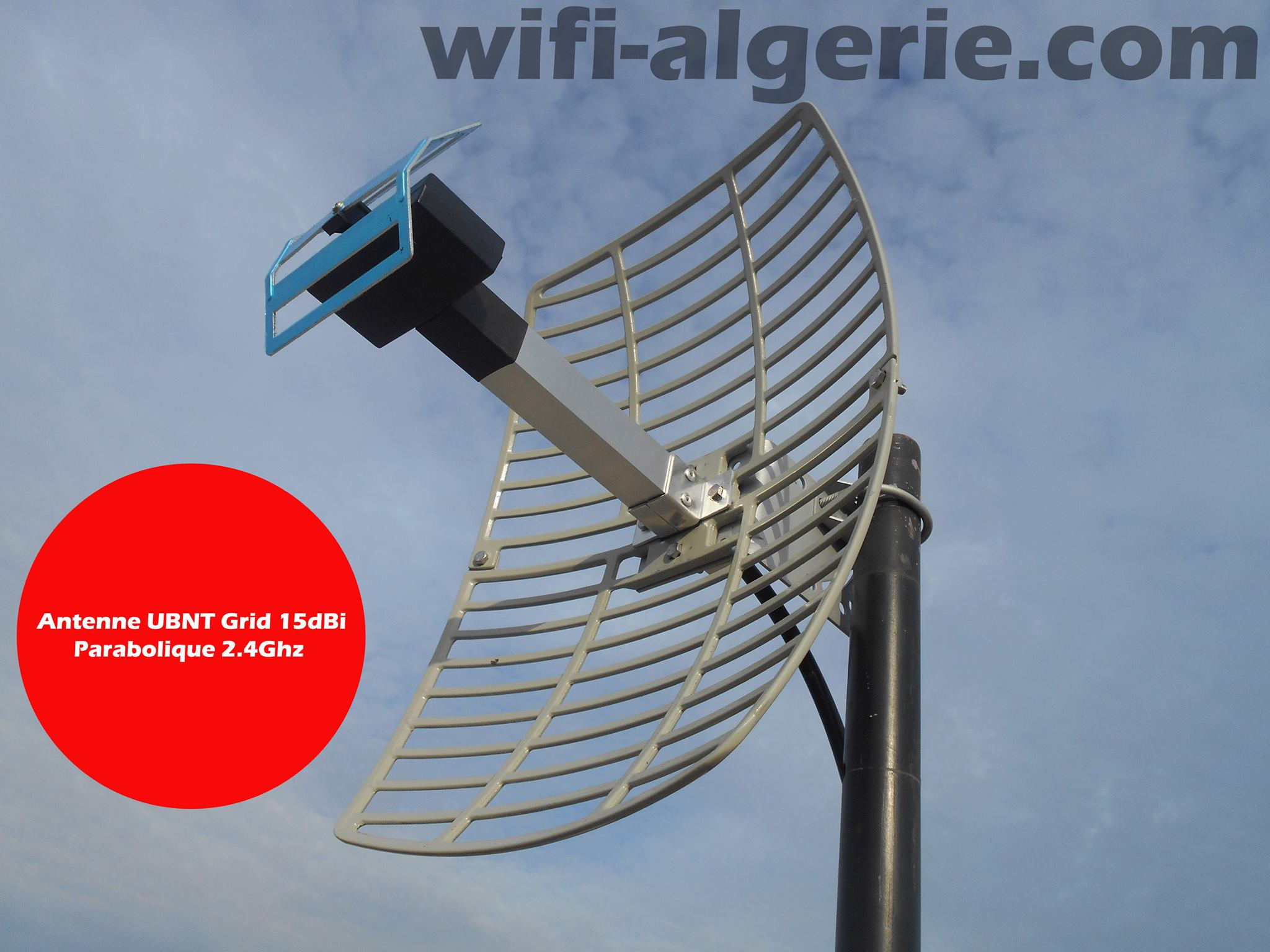 Antenne Parabolique 15 Dbi Pour Reseaux 2 4 Ghz 213 550114099
